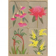 Magnet Greeting Card - Gillian Mary Australian Flowers