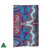 Aboriginal Art Cotton Tea Towel - Elaine Lane