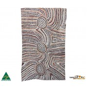 Aboriginal Art Cotton Tea Towel - Lulu Trancollino