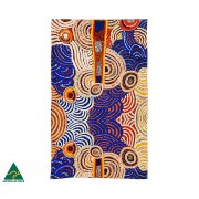 Aboriginal Art Cotton Tea Towel - Nora Davidson