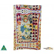 Aboriginal Art Cotton Tea Towel - Rosie Lala