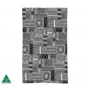 Aboriginal Art Cotton Tea Towel - Fiona Puruntatameri