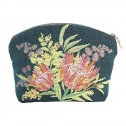 French Tapestry Cosmetic Bag - Aussie Flora