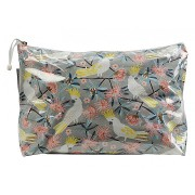 Large Cosmetic Bag - Crested Cockatoo