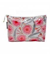 Large Cosmetic Bag - Pink Gum Blossom