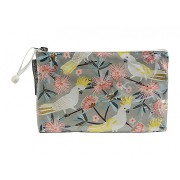 Small Cosmetic Bag - Crested Cockatoo