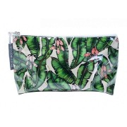 Small Cosmetic Bag - Banana Leaf