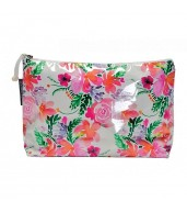 Large Cosmetic Bag - Sweet Blooms