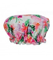 Fabric Shower Cap - Sweet Blooms
