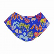 Bandana Bib - Big Cat Blue
