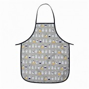 Kids Easy Wipe Apron - Bathing Bear