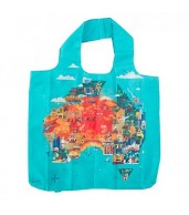 Shopping Tote - Australia Map