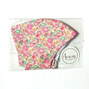 Liberty Tana Lawn Cotton Face Mask - Betsy Ann Pink