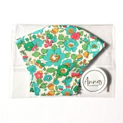 Liberty Tana Lawn Cotton Face Mask - Betsy Green