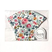 Liberty Tana Lawn Cotton Face Mask - Betsy Grey