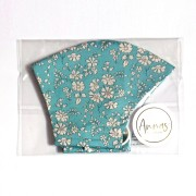 Liberty Tana Lawn Cotton Face Mask - Capel Blue