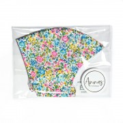 Liberty Tana Lawn Cotton Face Mask - Emma and Georgina Pink