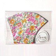 Liberty Tana Lawn Cotton Face Mask - Honeydew