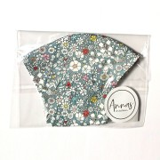 Liberty Tana Lawn Cotton Face Mask - June's Meadow Grey