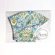 Liberty Tana Lawn Cotton Face Mask - Lodden Green