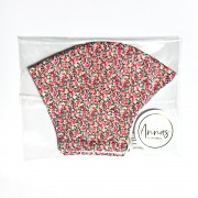 Liberty Tana Lawn Cotton Face Mask - Pepper Pink