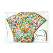 Liberty Tana Lawn Cotton Face Mask - Poppy Forest