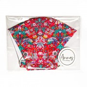 Liberty Tana Lawn Cotton Face Mask - Strawberry Thief Red