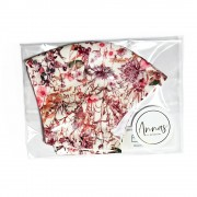 Liberty Tana Lawn Cotton Face Mask - Wild Flowers Pink