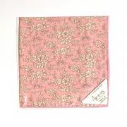 Liberty Tana Lawn Cotton Hanky - Capel Pink