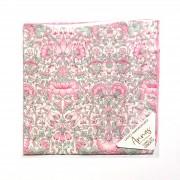 Liberty Tana Lawn Cotton Hanky - Lodden Pink