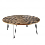 Mosaic Black Coffee Table