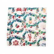 Festive Toile Multi Napkins (Set of 6)