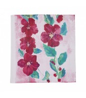 Holly Hock Napkins (Set of 6)
