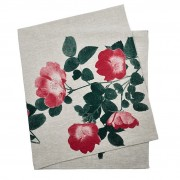 Tablecloth - Climbing Rose Red