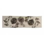 Table Runner - Flowering Gum Black