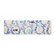 Table Runner - Wreath Blue