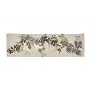 Table Runner - Wattle Black Gold
