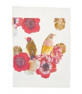 Tea Towel - Finches Multicolour
