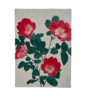 Tea Towel - Climbing Rose Red