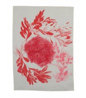 Tea Towel - Flowering Gum Pink Coral