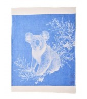 Tea Towel - Koala Light Blue