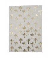 Tea Towel - Tiny Palms Gold