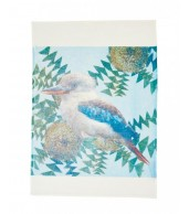 Tea Towel - Banksia Kooka Blue