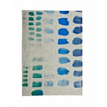 Tea Towel - Palette Blue