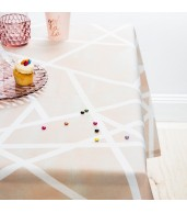 Tablecloth - Geometric Powder by Sarah Ellison