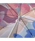 Beach Umbrella - Wildflowers by Leah Bartholomew