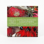 Coaster Set - Australian Wildflower