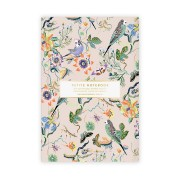 Petite Notebook - Budgerigars