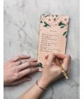 "Camelias ""Reminders"" DL Notepad"