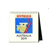 2019 Desk Calendar - Australia